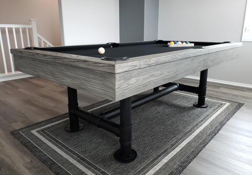 Bedford Silver Mist Pool Table Los Angeles 8 Ft Pool Tables For Sale