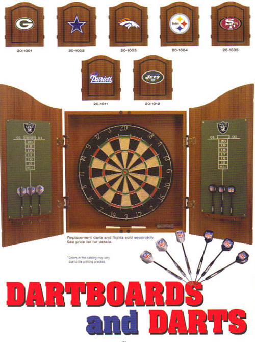 NFL Dartboards