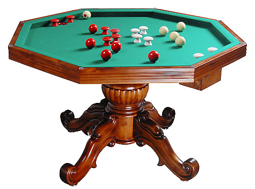 Exceptional Honey Poker Table