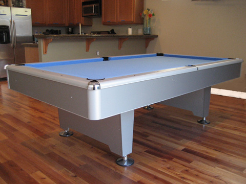 Gray Eliminator Pool Table So Cal Pool Tables - Eliminator pool table