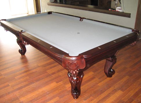 Waverly Cherry Pool Table So Cal Pool Tables